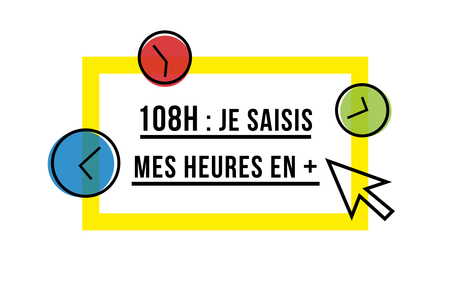 108 heures je compte mes heures