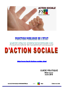 Guide action sociale avril 2018